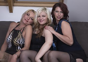 Moms Lesbian Orgy Porn Pictures